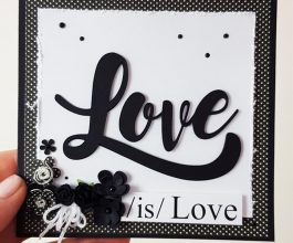 love is love square card 002