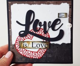 love is love square card 004
