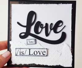 love is love square card 005