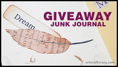 Junk Journal GIVEAWAY