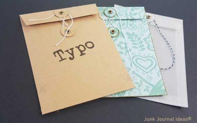 Kraft paper portfolio bag