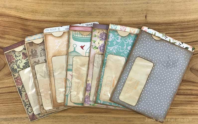 Window envelope pockets