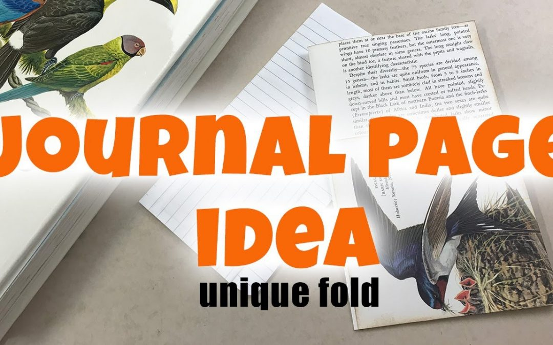 Journal page ideas