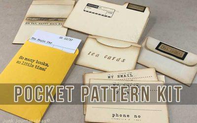Portfolio file folder kit