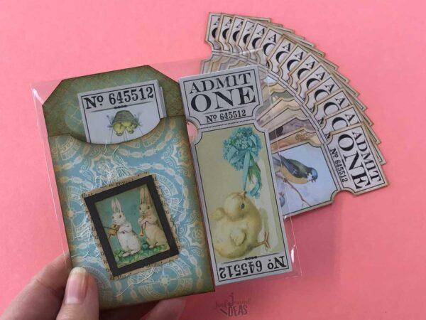 vintage-easter-tickets-pocket-junk-journal-ideas