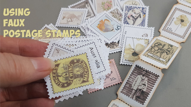 Faux postage stamps #2
