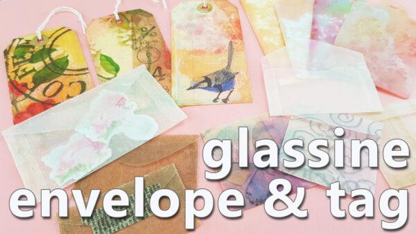 DIY glassine_envelope& tag