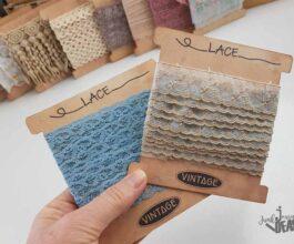 lace card spools