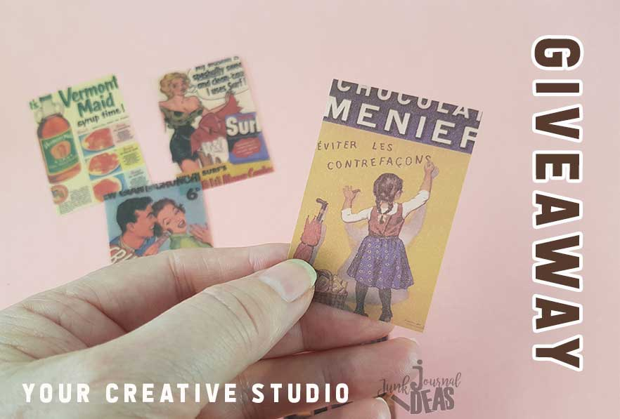 Your Creative Studio Vintage Stationary Box Giveaway