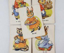 Vintage Donkey edition cards