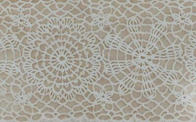 How to coffee dye lace paper