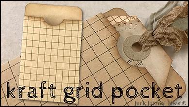 Kraft grid pocket