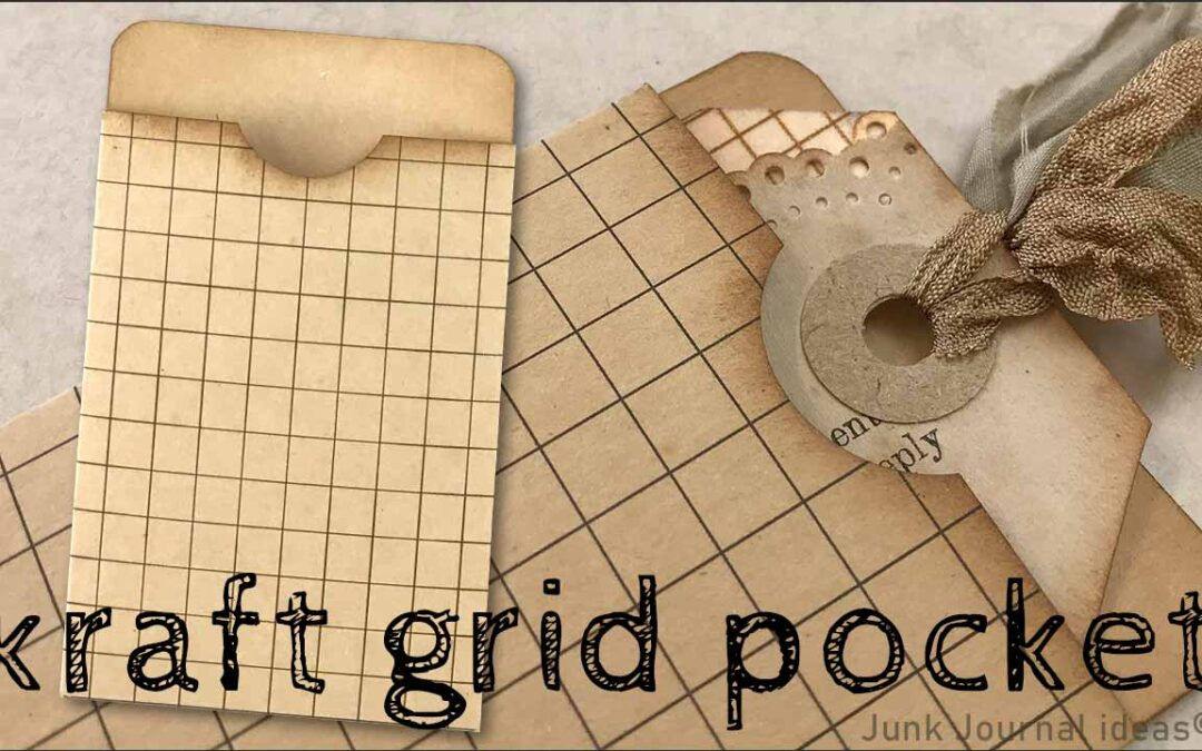 kraft_grid_pocket_junk_journal_ideas
