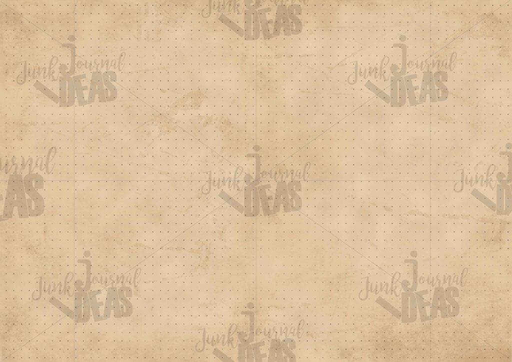 vintage-paper_grid_dots_junk_journal_ideas