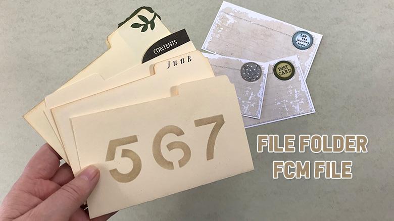 mini file folder junk journal ideas
